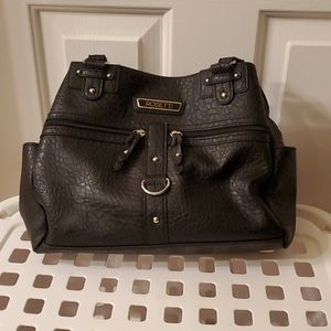 Rosetti black purse.